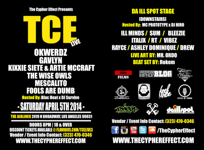 TCE Flyer Double 2