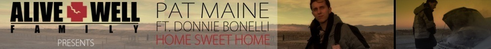 Pat Maine Home Sweet Home Long Banner The Cypher Effect
