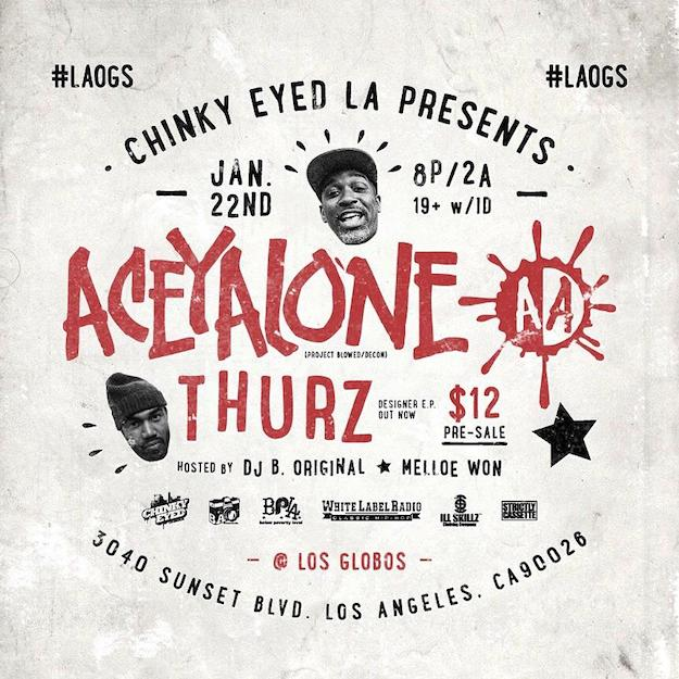Aceyalone thurz chinky eyed la the cypher effect