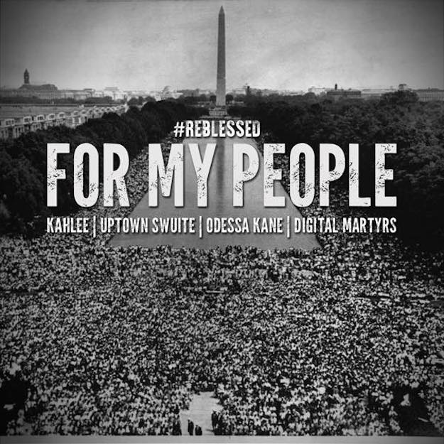Kahlee310 – For My People ( Feat Uptown Swuite & Odessa Kane | Cuts by DJ Wise )
