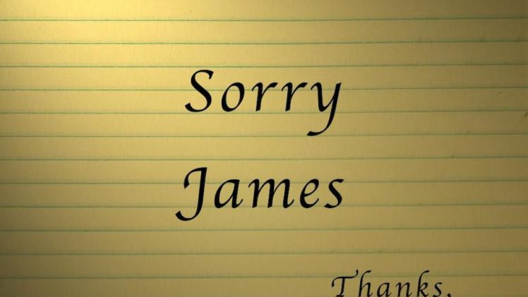 Spitty The Sequel – Sorry James